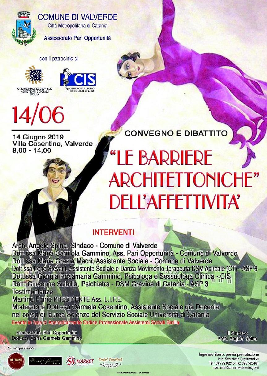 """""""LE BARRIERE ARCHITETTONICHE"""" DELL'AFFETTIVITA'"""