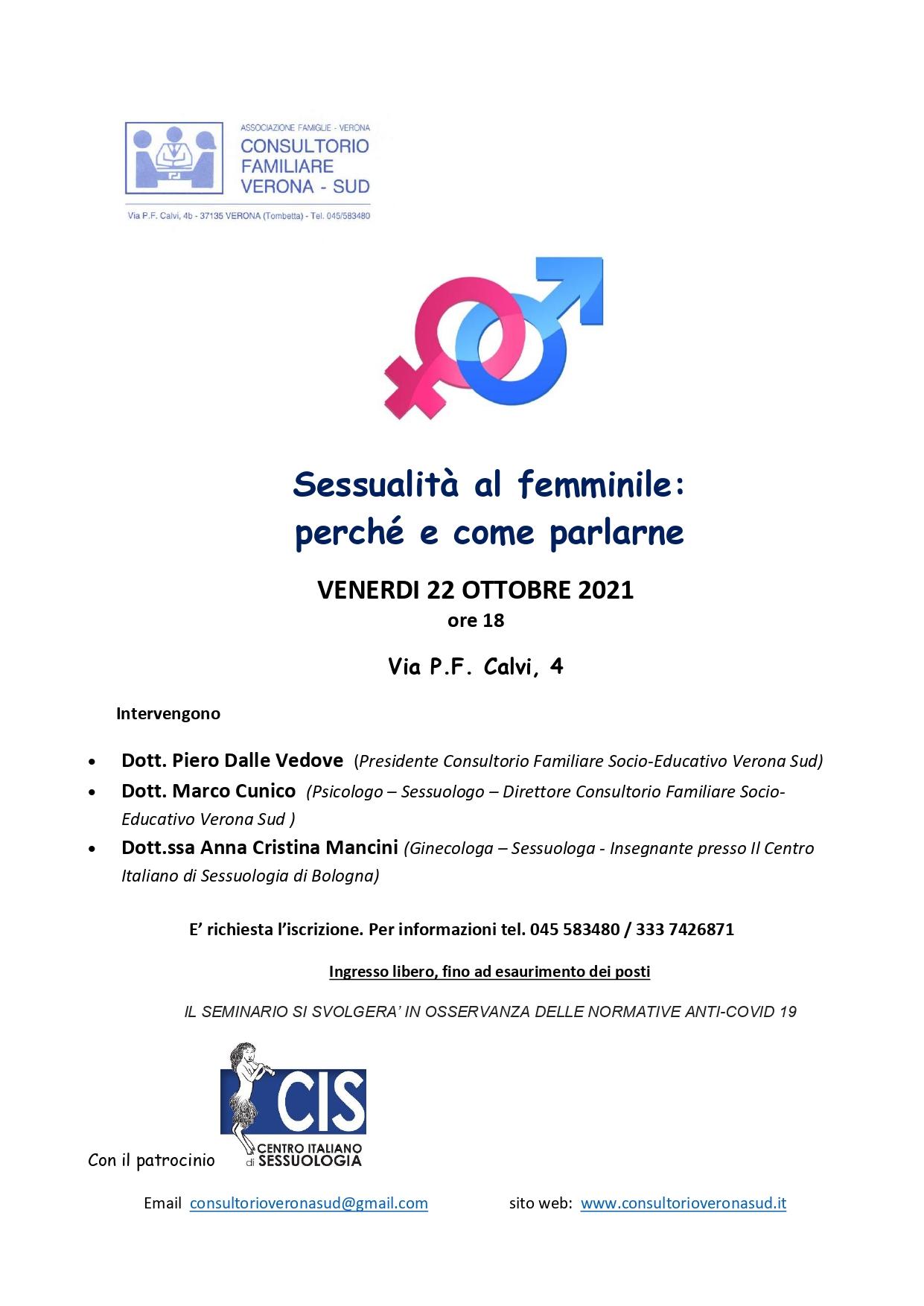 Sessualità al femminile: perché e come parlarne